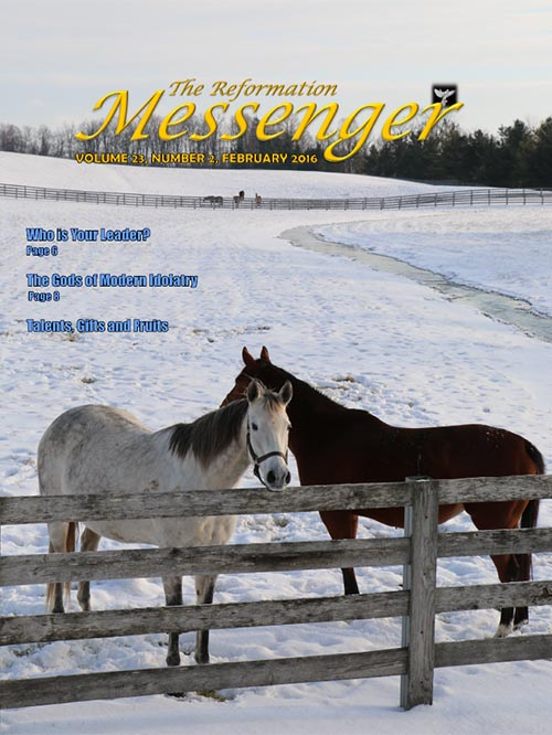 The Reformation Messenger - February 2016