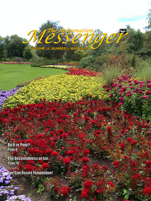 The Reformation Messenger - May 2016
