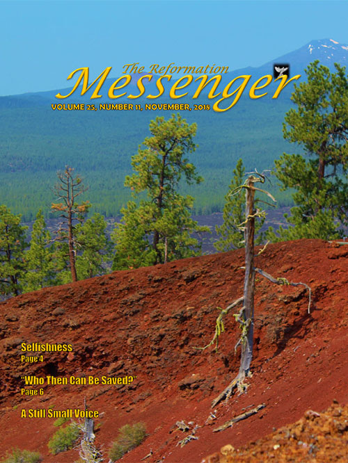 The Reformation Messenger - November 2018