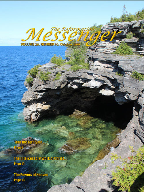 The Reformation Messenger - October 2019