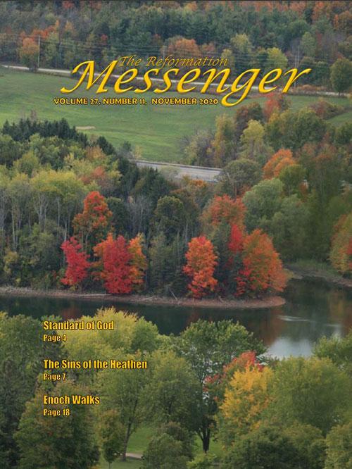 The Reformation Messenger - November 2020